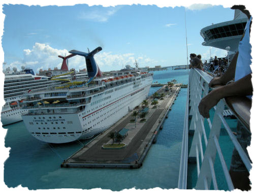 Photo of different cruise ships!